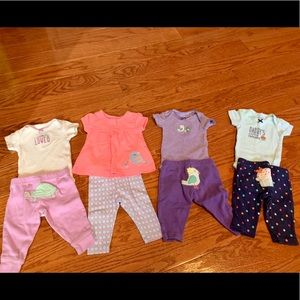 (4) carters newborn outfits 💞